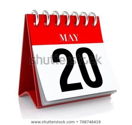 Stock photo: 20th May