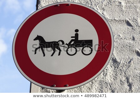No carriages in Rothenburg Stock photo © benkrut