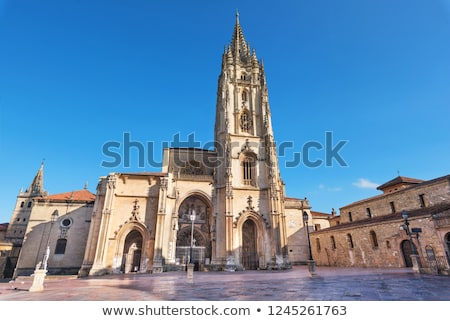 Oviedo Cathedral. Stock photo © asturianu