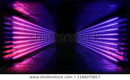 Absztrakt alagút bemozdulás utazó nagysebességű futurisztikus Stock fotó © stevanovicigor