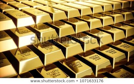 Mistero splendente oro bar illustrazione 3d luce Foto d'archivio © tracer