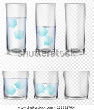 Szemüveg víz whisky illusztráció buli bor Stock fotó © bluering