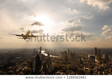 view of Bangkok from plane  Stock photo © ssuaphoto