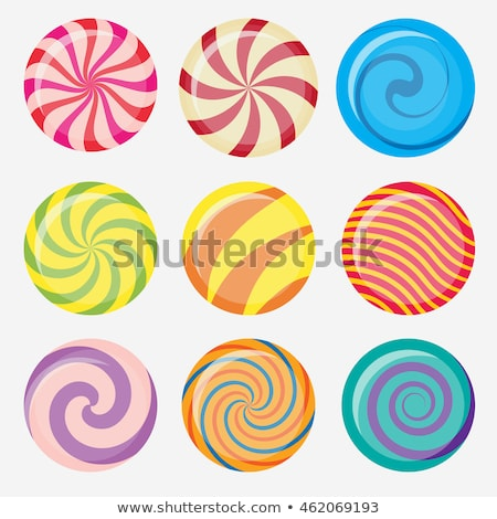 Vecteur coloré spirale isolé blanche Photo stock © freesoulproduction