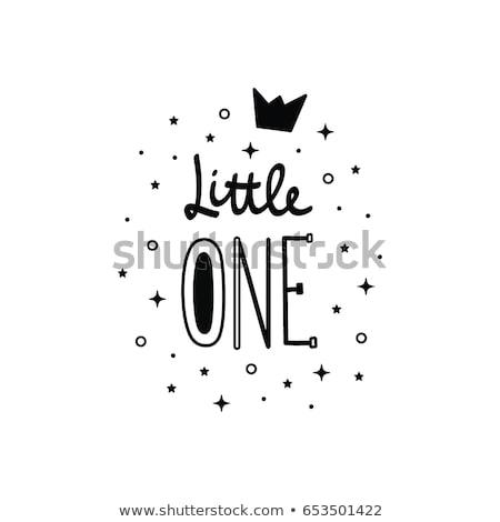 赤ちゃん 書道 言葉 カラフル 孤立した 白 ストックフォト © robuart