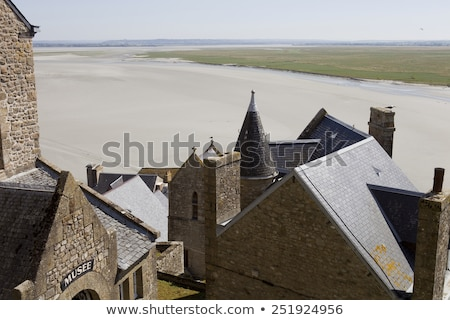 inside the mont saint michel in the north of france, Normandy stock photo © doomko