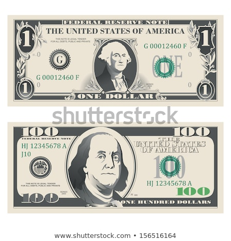 Dollar American Usa Currency Vector Illustration Stock photo © mart
