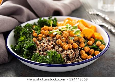 Bowls of grain Stock photo © AGfoto