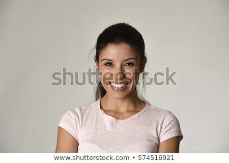 szép · egészséges · nő · portré · portré · nő · pattanás - stock fotó © Anna_Om