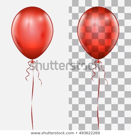 balões · aniversário · férias · celebração · isolado · branco - foto stock © barbaliss