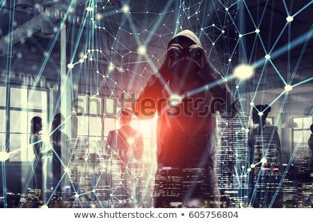 Bináris kód számok vegyes média technológia hálózat Stock fotó © alexaldo
