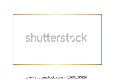 красочный прямоугольный кадр иллюстрация пейзаж дизайна Сток-фото © Blue_daemon