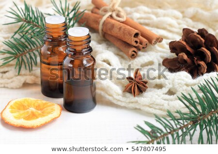 Anises with essential oil Stock photo © bdspn