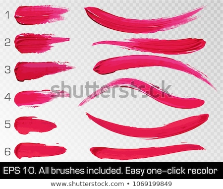 colorful lipstick collection isolated transparent background stock photo © adamson