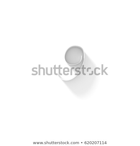 Línea fuente sombra número nueve 3D Foto stock © djmilic
