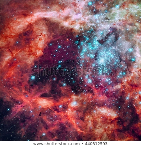 Region of the Tarantula Nebula in the Large Magellanic Cloud. Stock photo © NASA_images