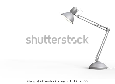 White desk lamp Stock photo © netkov1