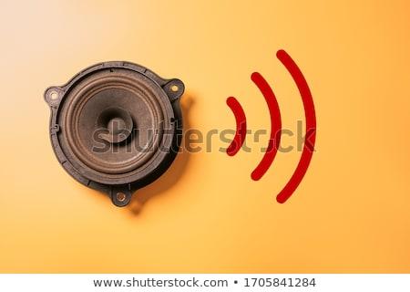 音楽 ストリーミング スマートフォン クローズアップ 手 ストックフォト © AndreyPopov