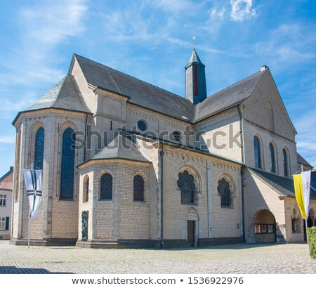 Basilique Allemagne catholique église bâtiment ville Photo stock © borisb17