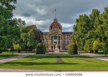 Palais vue jardin république carré morts Photo stock © borisb17