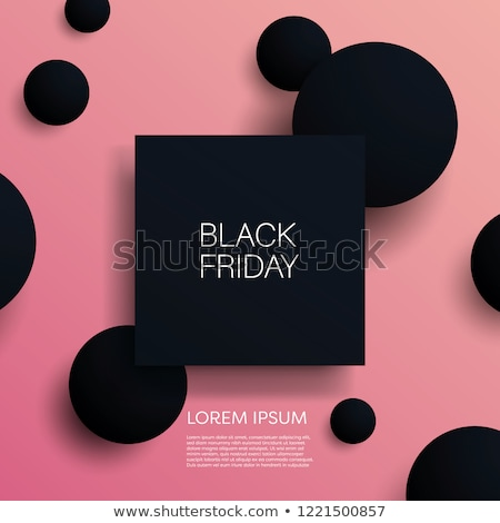 big sales in mall black friday with discounts stock photo © robuart
