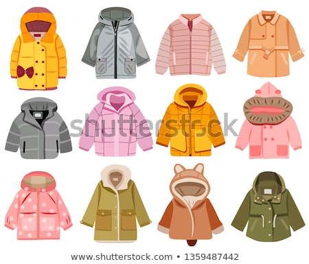 Winter clothes collection knitted clothes and accessories in Chr Stock photo © Margolana