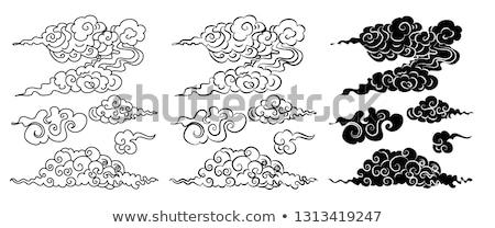 Japón · iconos · patrón · diseno · viaje · eps - foto stock © olehsvetiukha