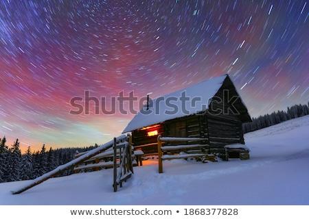 Winter Mystical Snow Scenic Background Stock photo © solarseven