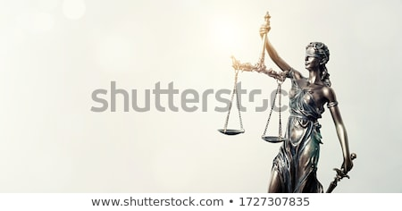 Scales of Lady Justice Stock photo © manfredxy