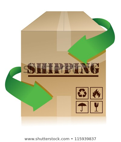Logistics Worldwide, Delivery of Orders and Packs Stock photo © robuart