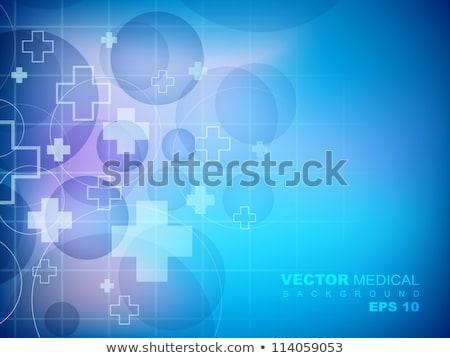Szívdobbanás vonalak orvosi egészségügy absztrakt terv Stock fotó © SArts