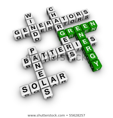 Series Of Solar Energy Panels Foto stock © ALMAGAMI