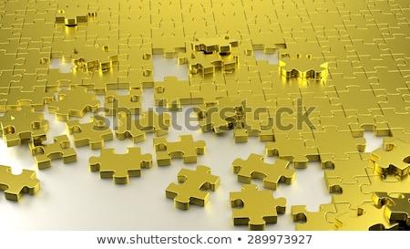 Arranging the final piece Stock photo © goir