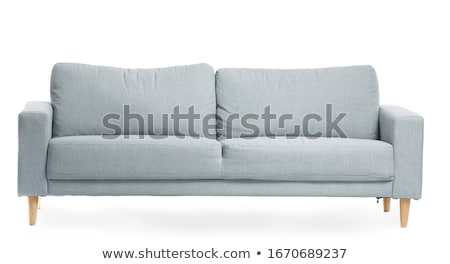 Beyaz modern kanepe modern tarzda Stok fotoğraf © jordygraph