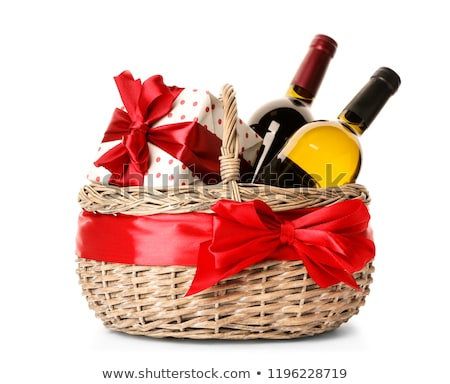 basket on white background  Stock photo © inxti