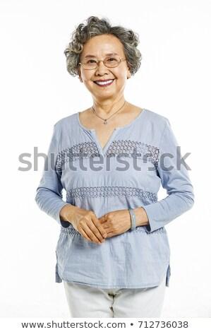 jade bracelets on white background Stock photo © happydancing