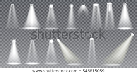 Stock photo: stage light