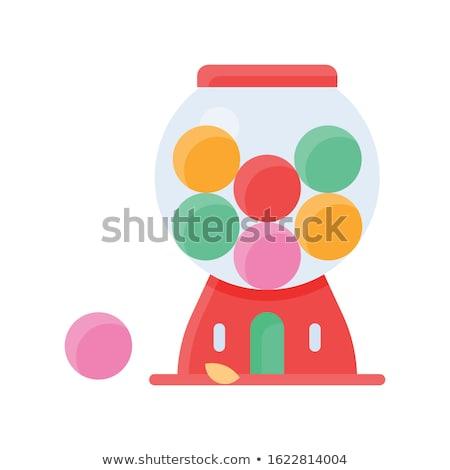 Gumball jar Stock photo © stevemc