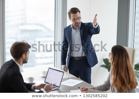 Stock photo: Annoyed executive