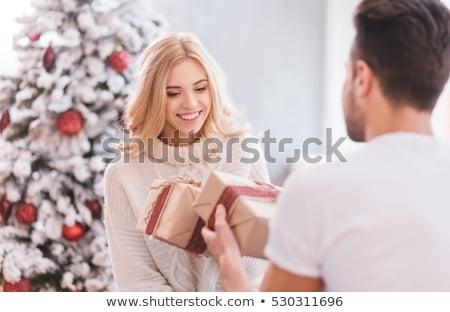 çift · hediyeler · doğum · günü · alışveriş · öfkeli · erkek - stok fotoğraf © photography33