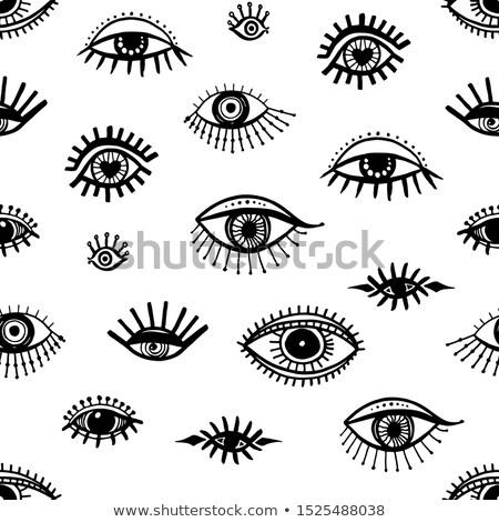 Eyeballs seamless background Stock photo © fixer00