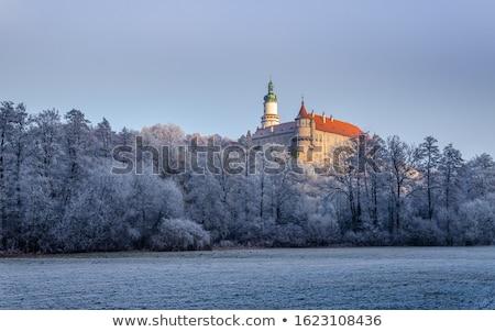 inverno · República · Checa · edifício · neve · castelo · arquitetura - foto stock © phbcz