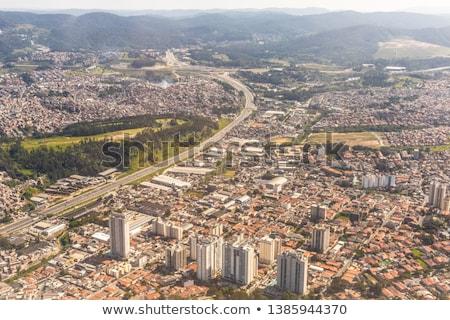 Сан-Паулу город регион Skyline архитектура небоскреба Сток-фото © cifotart