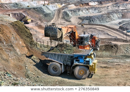 Stock photo: Extraction of iron ore