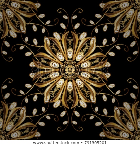 Floral glass pattern Stock photo © ankarb