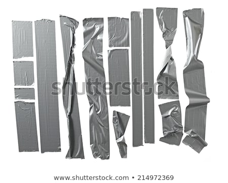 Silver duct tape Stock photo © wavebreak_media