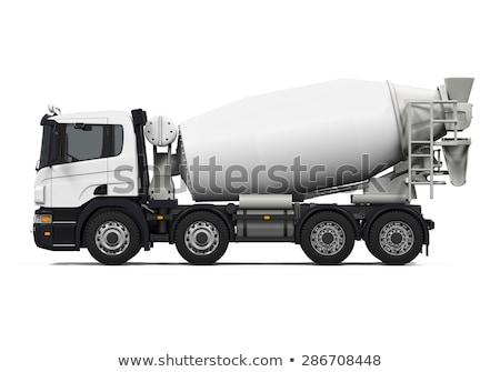 Camión mezclador nino Foto stock © zzve