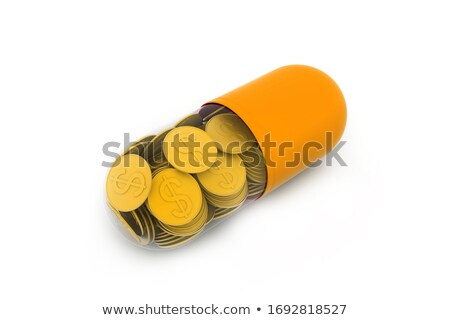 içinde · kapsül · para · doktor · sağlık - stok fotoğraf © 4designersart