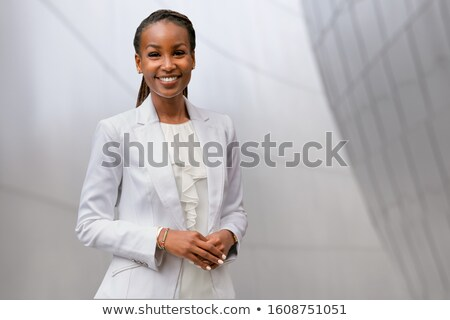 businesswoman headshot Stock photo © Marco_Cappalunga