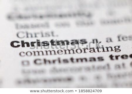 Conceptual faith text dictionary definition  stock photo © jenbray